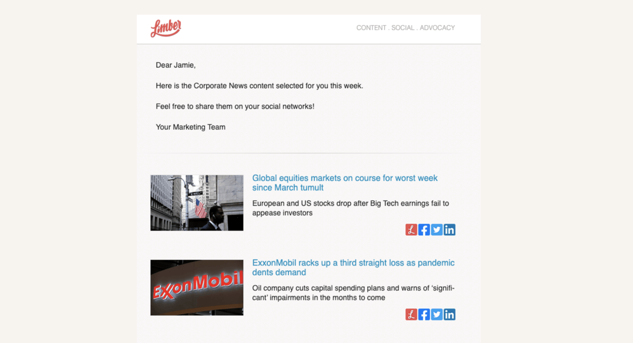 Automated Newsletters